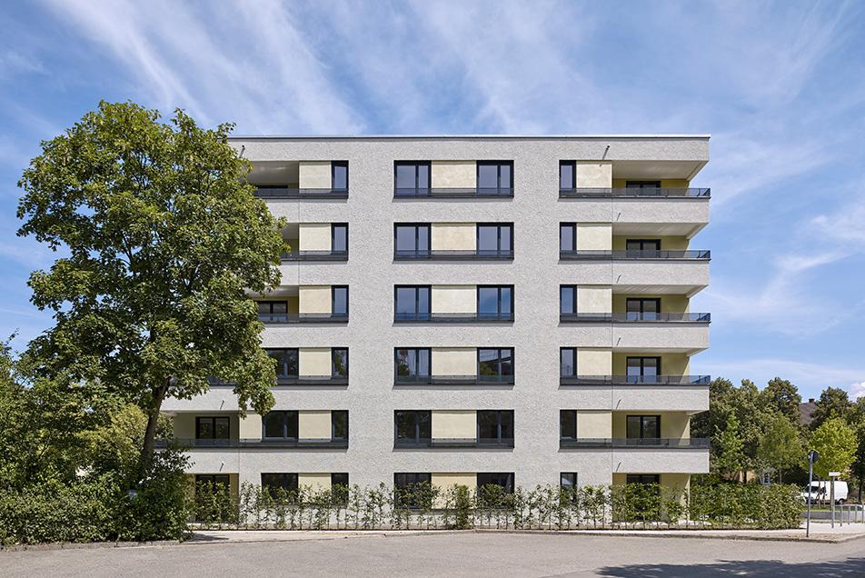 Mehrfamilienwohnhaus mit 30 Wohneinheiten, ein Projekt der Geiser TGA